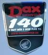 DAX STICKER FRAME SIDE 140 CCM REPRO