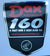 DAX STICKER FRAME SIDE 160 CCM REPRO