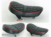 OW MUNK SEAT RED PIPING WITH DIAMOND PATTERN